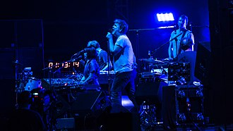 LCD Soundsystem performing at All Points East in 2018 LCD Soundsystem APEVicPark250518-130 (42510144691).jpg