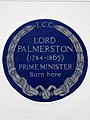 LORD PALMERSTON (1784-1865) PRIME MINISTER Born here.jpg