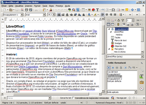 LibreOffice Writer 4.4