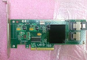 LSI Corporation - LSI 9211-8i host adapter