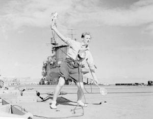 LSO on HMS Illustrious (87) c1942.jpg