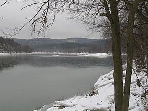 Lake Lackawanna at Lackawanna State Park