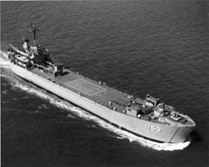 LST-1153 underway