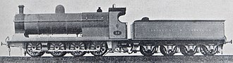 L&YR Class 30 - LYR 0-8-0 Class 30 with standard Belpaire boiler