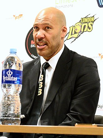 LaVar Ball - Ball after coaching a friendly in 2018