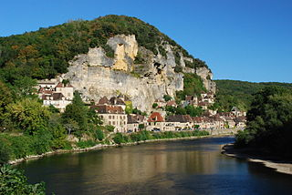 La Roque-Gageac Commune in Nouvelle-Aquitaine, France