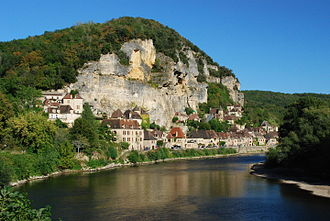 La Roque-Gageac - La Roque-Gageac and the Dordogne River