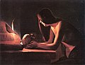 La Tour - The Repentant Magdalene with a Document, circa 1630-1650.jpg