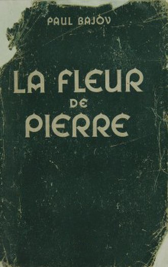 The Malachite Box - The cover of the 1947 French edition of The Malachite Box.