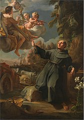 The Vision of the Blessed Sebastián Aparicio
