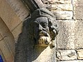 Label stop at St Mary's Church, Lowton Common, Manchester 01.jpg