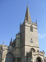 The church in Lacock