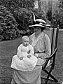 Lady Duncannon with baby (28570504326).jpg