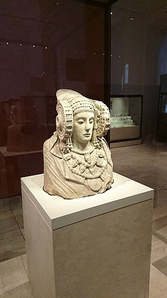 Lady of Elche - Lady of Elche at the National Arquaeological Museum, Madrid (Spain)