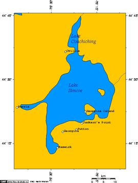 plano del lago