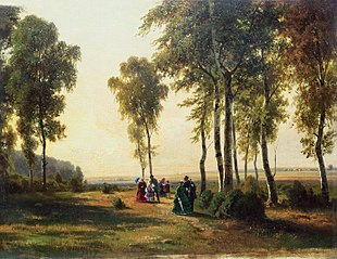 Landscape with Walking