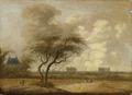 Landschap met gezicht op Leiden - Jacob van der Croos.PNG