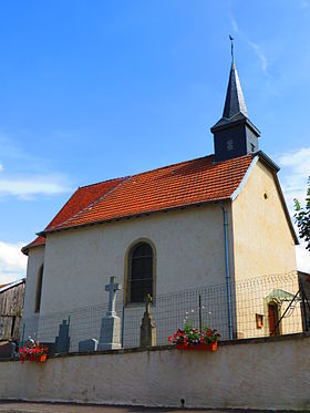 Église Saint-Hubert.