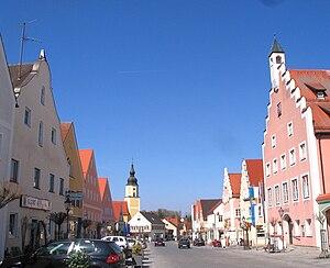 Langquaid - Image: Langquaid Marktplatz