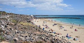 Lanzarote - Playa Blanca Beach towards Marina.jpg
