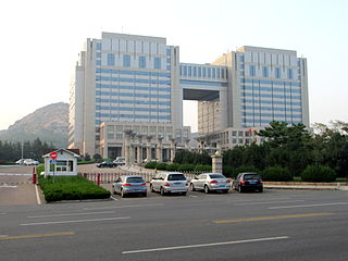 Laoshan District District in Shandong, Peoples Republic of China