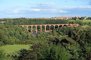 Larpool Viaduct Railway viaduct in North Yorkshire, England