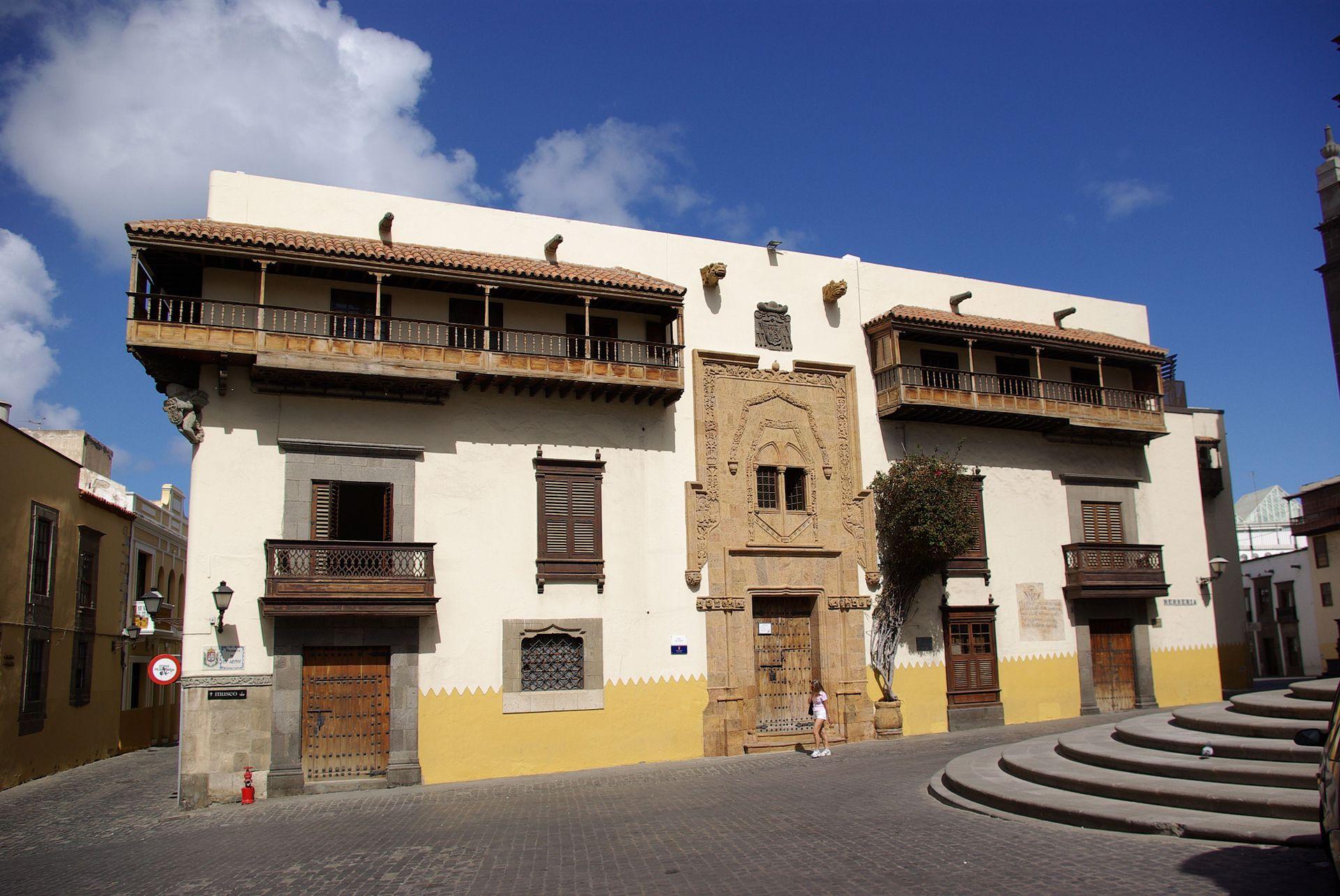 Casa de col n las palmas de gran canaria wikipedia la enciclopedia libre - Apartamentos puerto rico las palmas ...