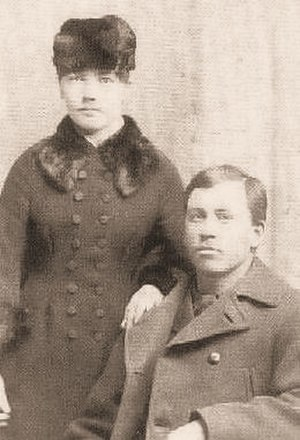 Laura Ingalls Wilder - Laura and Almanzo Wilder, circa 1885