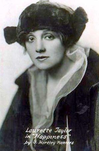 Laurette Taylor - Laurette Taylor in 1914