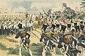 Le 63e régiment d'infanterie soutient la charge des dragons à Friedland.jpg