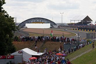 Dunlop Bridge - Image: Le Mans Esses