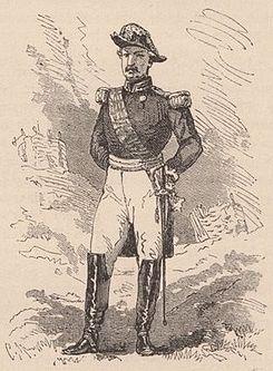 Le général Robels, commandant de l'armée paraguayenne du Sud.jpg