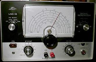 Signal generator - Leader Instruments LSG-15 signal generator
