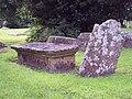Leaning Gravestone - geograph.org.uk - 473628.jpg