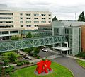 Legacy Salmon Creek Medical Center skybridges - Vancouver, Washington.JPG