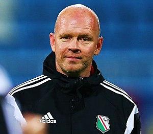 Henning Berg - Berg as a coach of Legia Warsaw in 2014