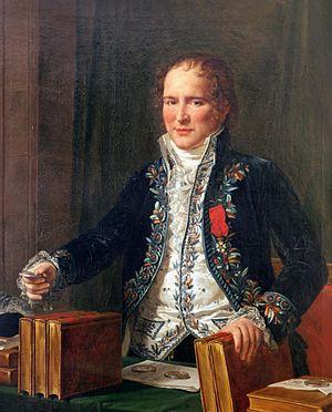 Antoine François, comte de Fourcroy - Portrait of Antoine-François by Anicet-Charles-Gabriel Lemonnier