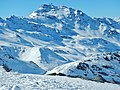 Les 3 Vallées, View to Cime Caron - panoramio.jpg