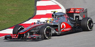 2012 Malaysian Grand Prix - Lewis Hamilton topped both Friday practice sessions.
