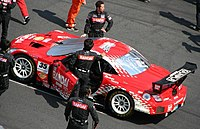 Lexus SC 430 at the Fuji Speedway Super GT series.