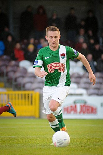 Liam Kearney - Liam Kearney in action for Cork City against Galway United in the 2015 League of Ireland