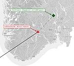 Liberator crash at Skorve, overview map.jpg