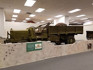 Liberty truck - Liberty Truck at Fort Bliss Museum