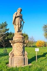 Sloup se sochou svatého Isidora