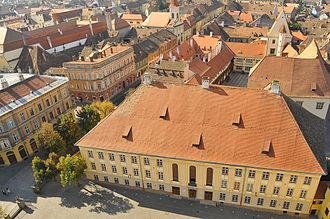 Germans of Romania - Samuel von Brukenthal National College in Sibiu (Hermannstadt)