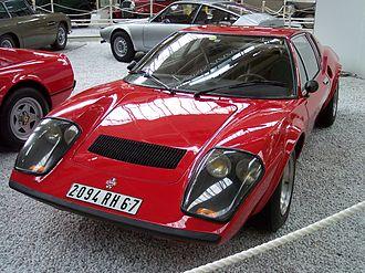 Ligier - Image: Ligier JS2 vl red