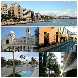 Limassol - Image: Limassol Montage 1
