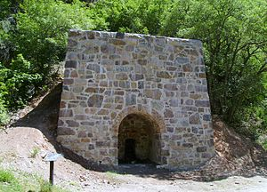 Ogden Canyon - Lime kiln in Ogden Canyon