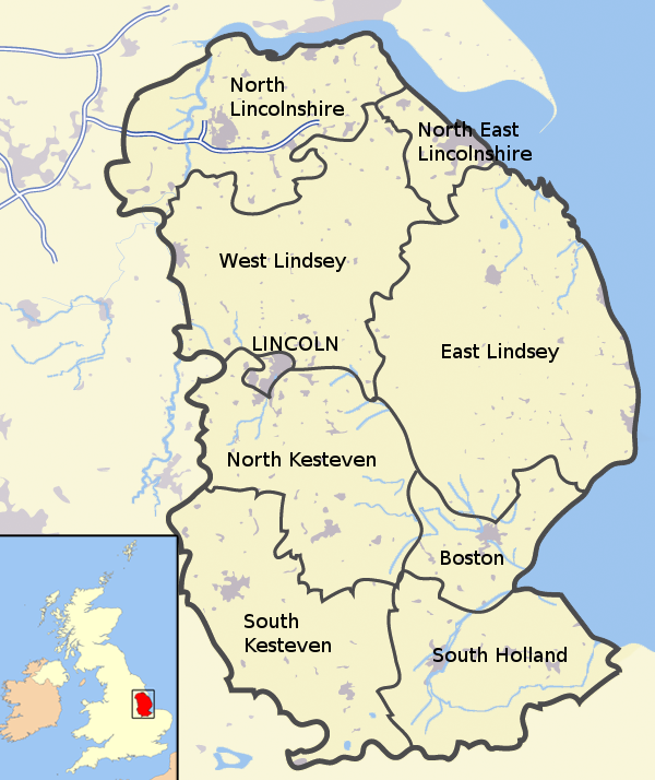 Lincolnshire districts