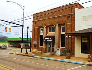 Lineville, Alabama - Lineville City Library
